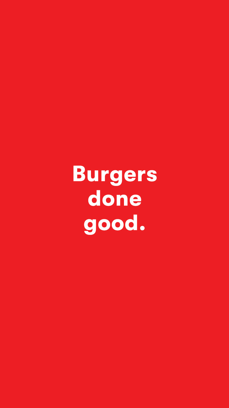 Burgers done good, Grill'd creative copy written by content agency Willow and Blake